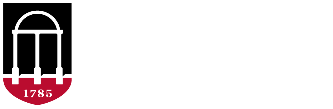 University of Georgia logo, horizontally-aligned